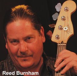 Reed Burnham Bass Guitar Artist For All Natural Ingredients