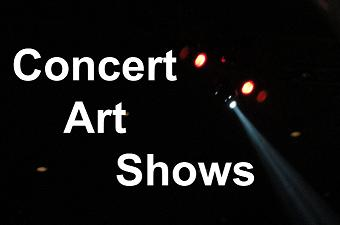 Concert Art Shows Logo