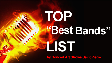 The Top Best Bands List