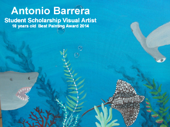 Title: Underwater Scene (Art By Antonio Barrera)