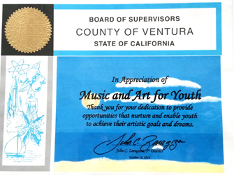 Ventura County Supervisors Award